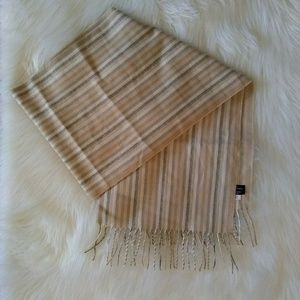 Accessories - Stripe Scarf Made in Germany